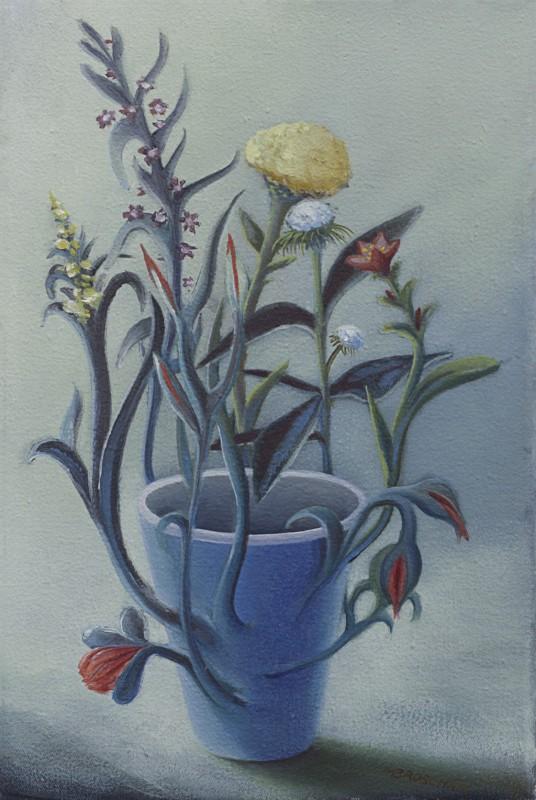 Blumen- Vase